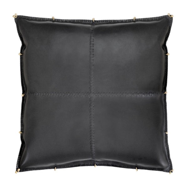 ALMOHADA in Black Bridle Leather