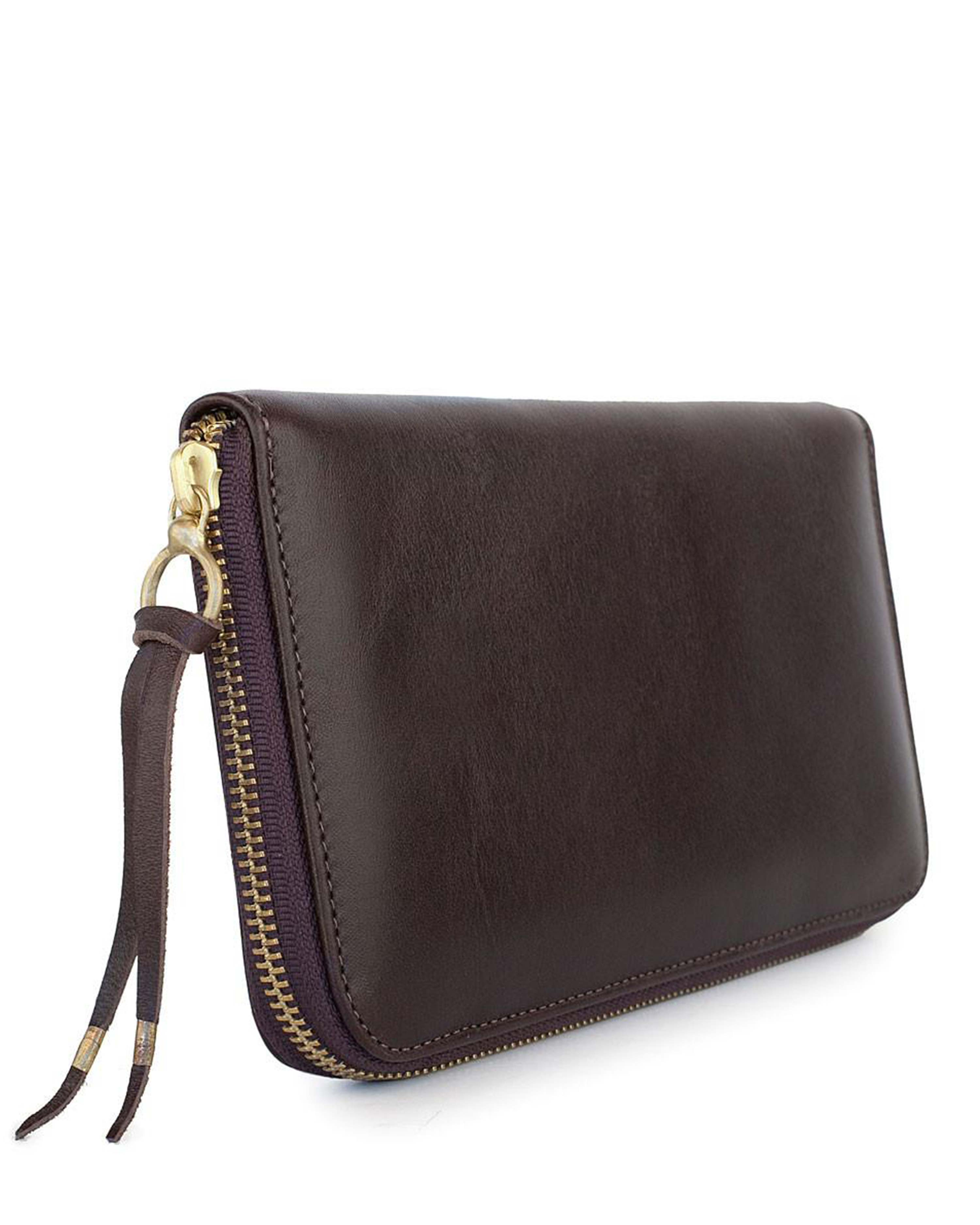 PASAPORTE in Chocolate Monte Carlo Leather