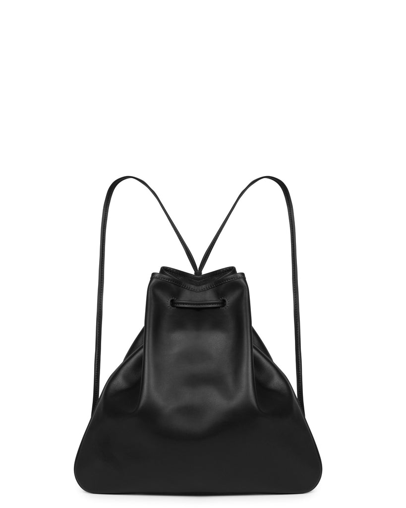 GIRONA BACKPACK in Black Napa
