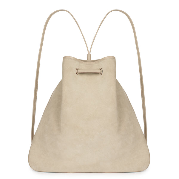 GIRONA BACKPACK in Caqui Suede