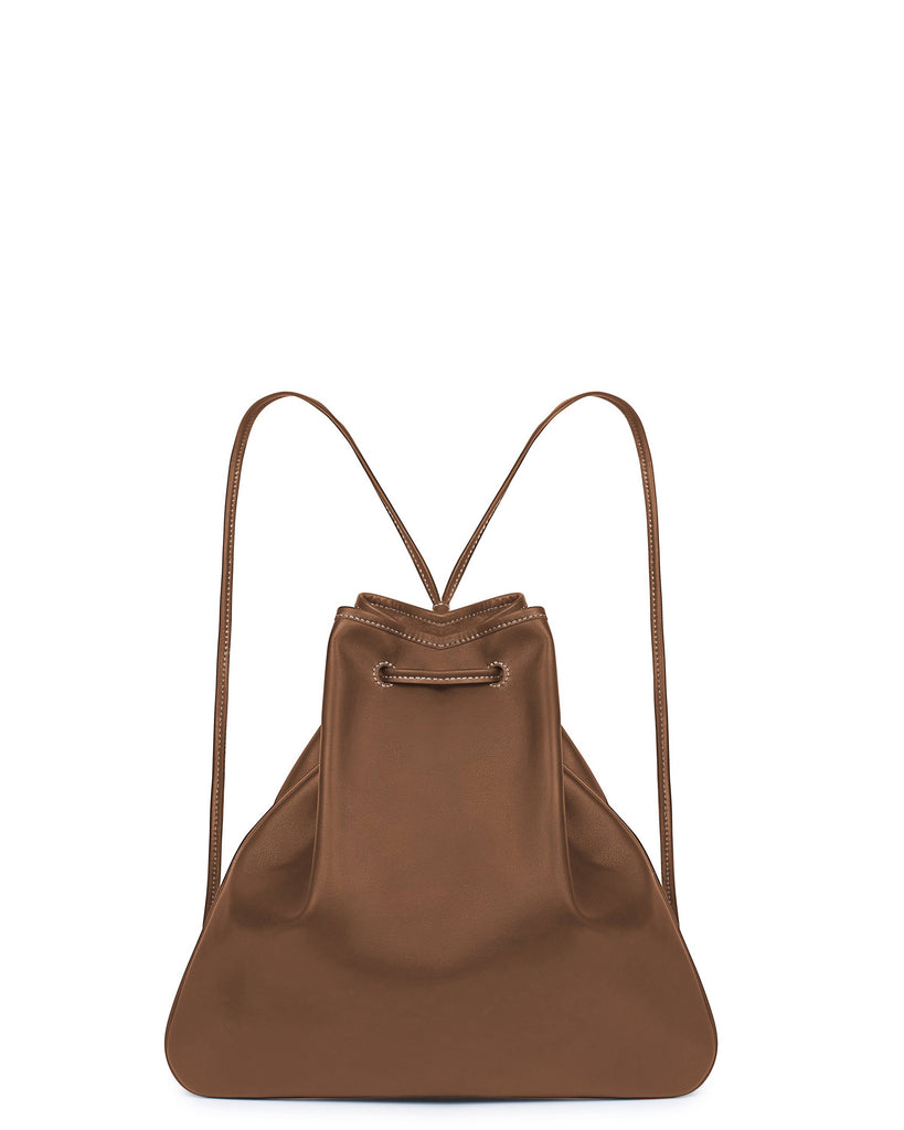 GIRONA BACKPACK in Cognac Napa