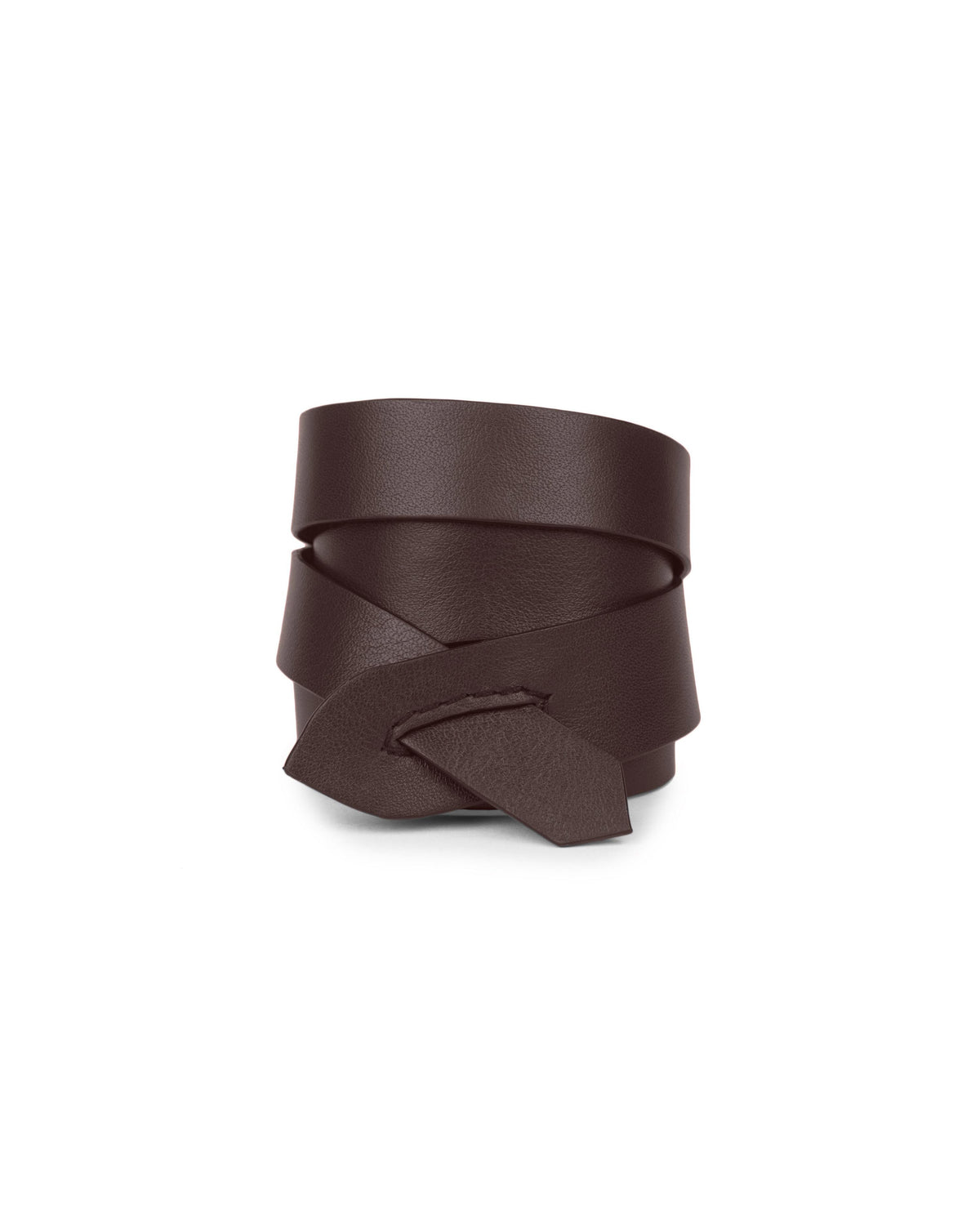 GIRONA WRIST WRAP in Chocolate Napa