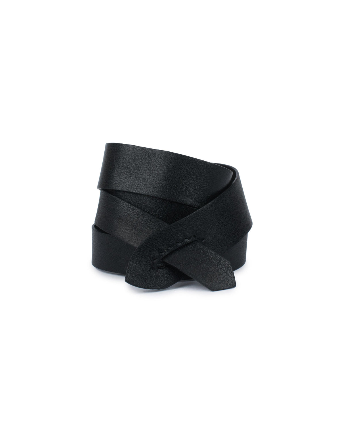 GIRONA WRIST WRAP in Black Napa