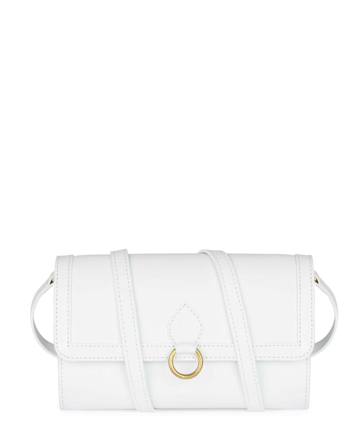 GITANA WALLET in White Napa