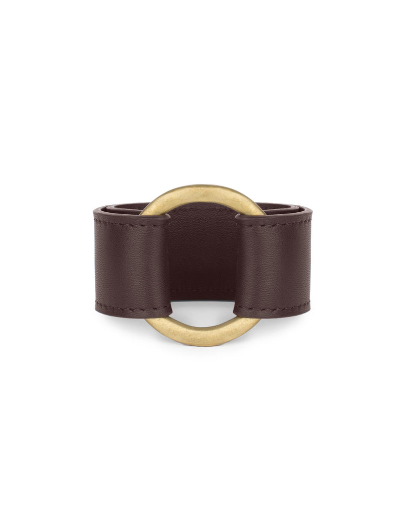 MAJA II CUFF in Chocolate Napa