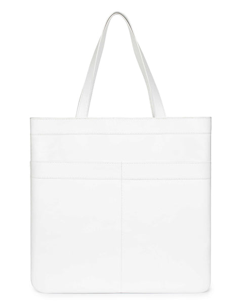 MARBELLA TOTE in White Napa