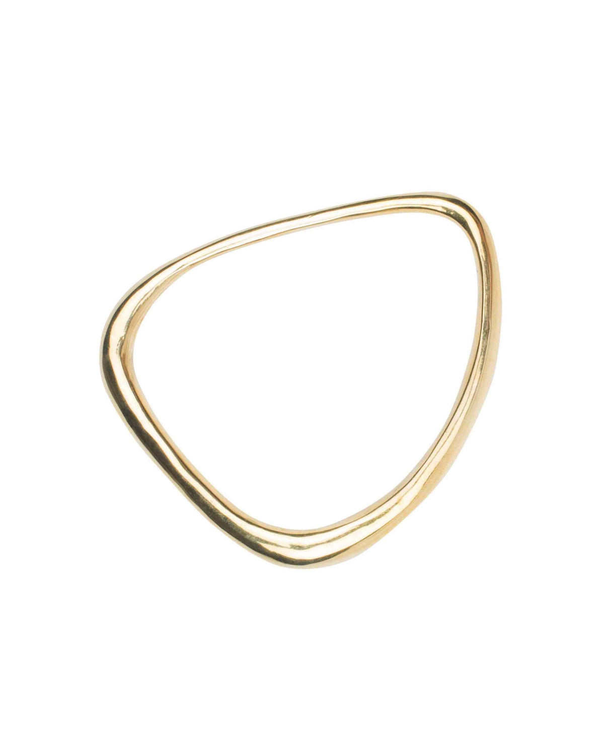 OBLIQUE BANGLE THICK