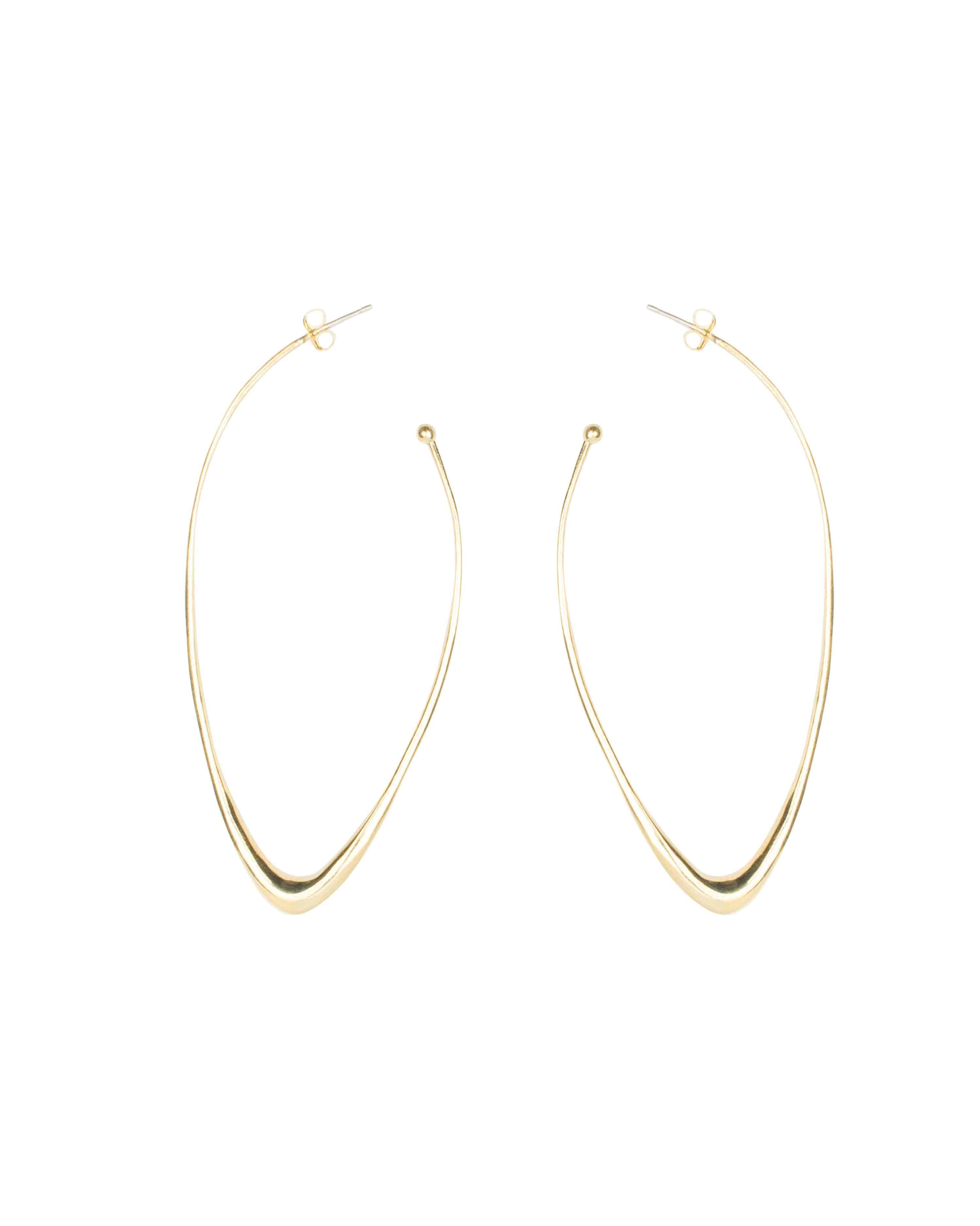 OBLIQUE HOOPS LONG