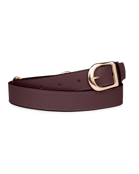 "1"" RING BELT in Fino Napa"