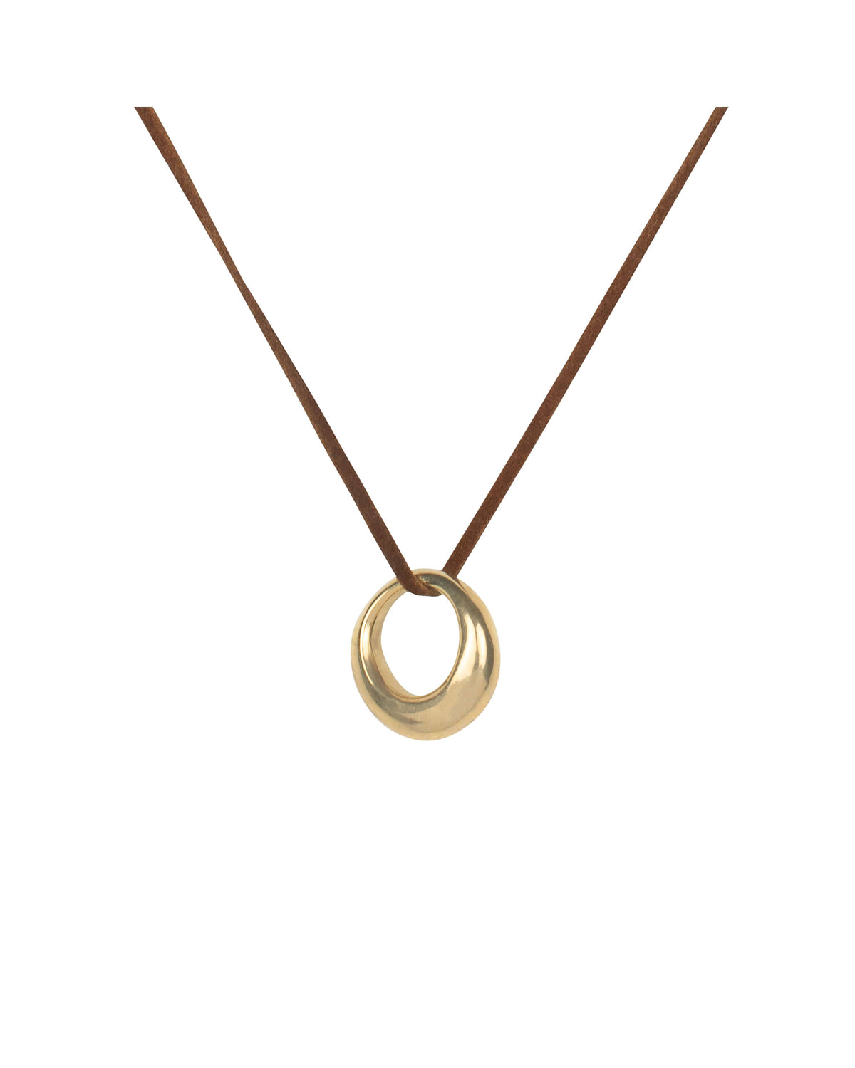 ROUNDED RING PENDANT