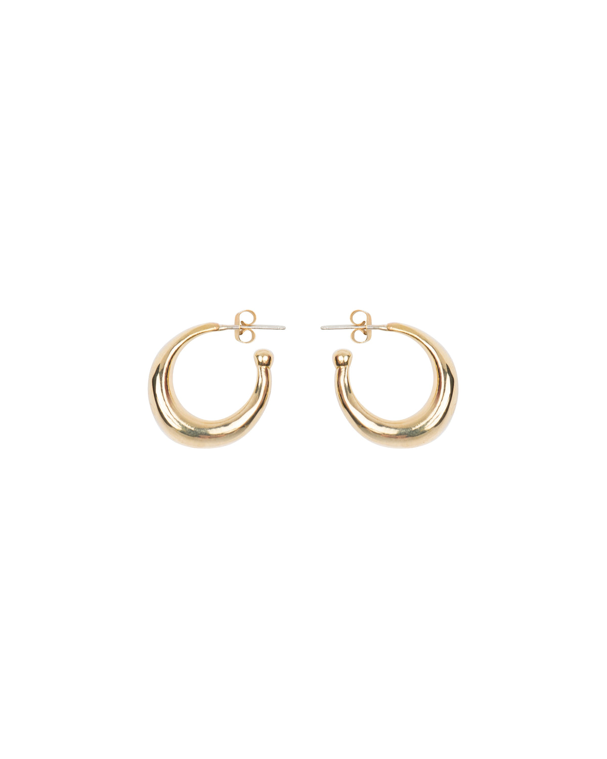 THICK ROUNDED HOOPS SMALL