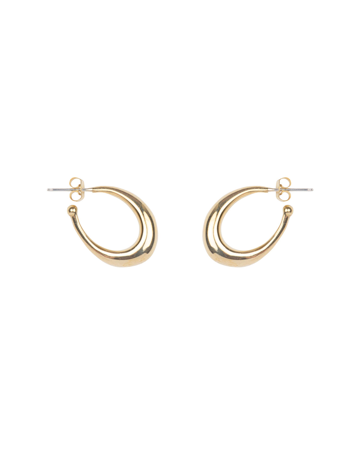 THICK OVAL HOOPS