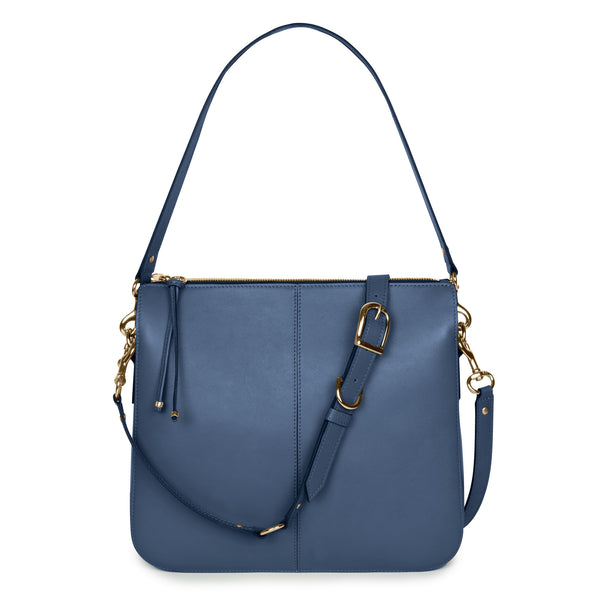 TRIANA MESSENGER in Denim Napa