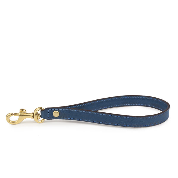 WRIST STRAP in Azul Napa Leather