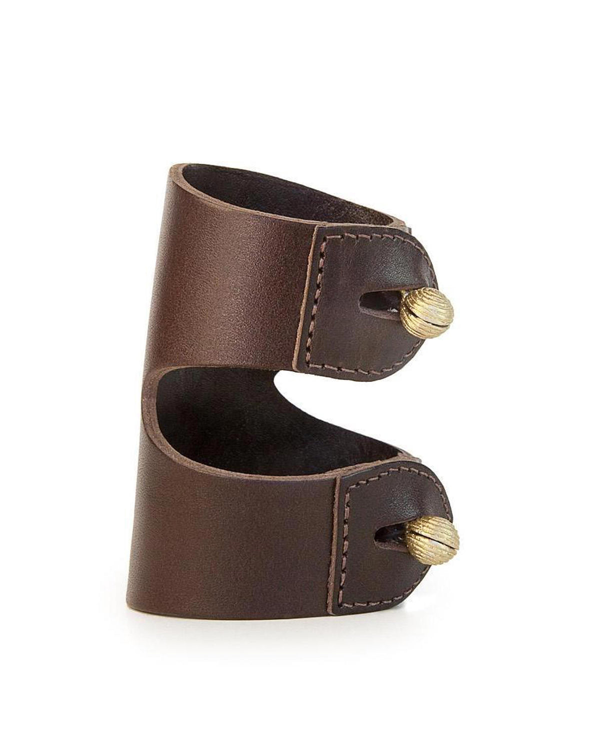 CAGANCHO CUFF in Chocolate Napa