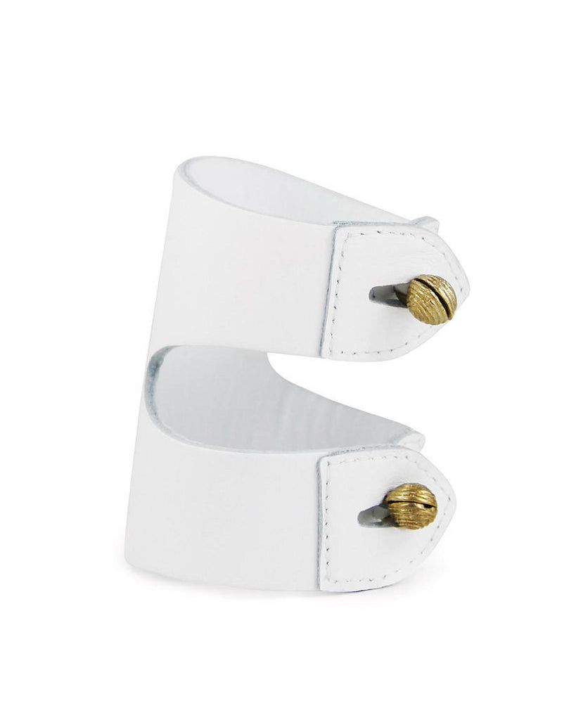 CAGANCHO CUFF in White Napa