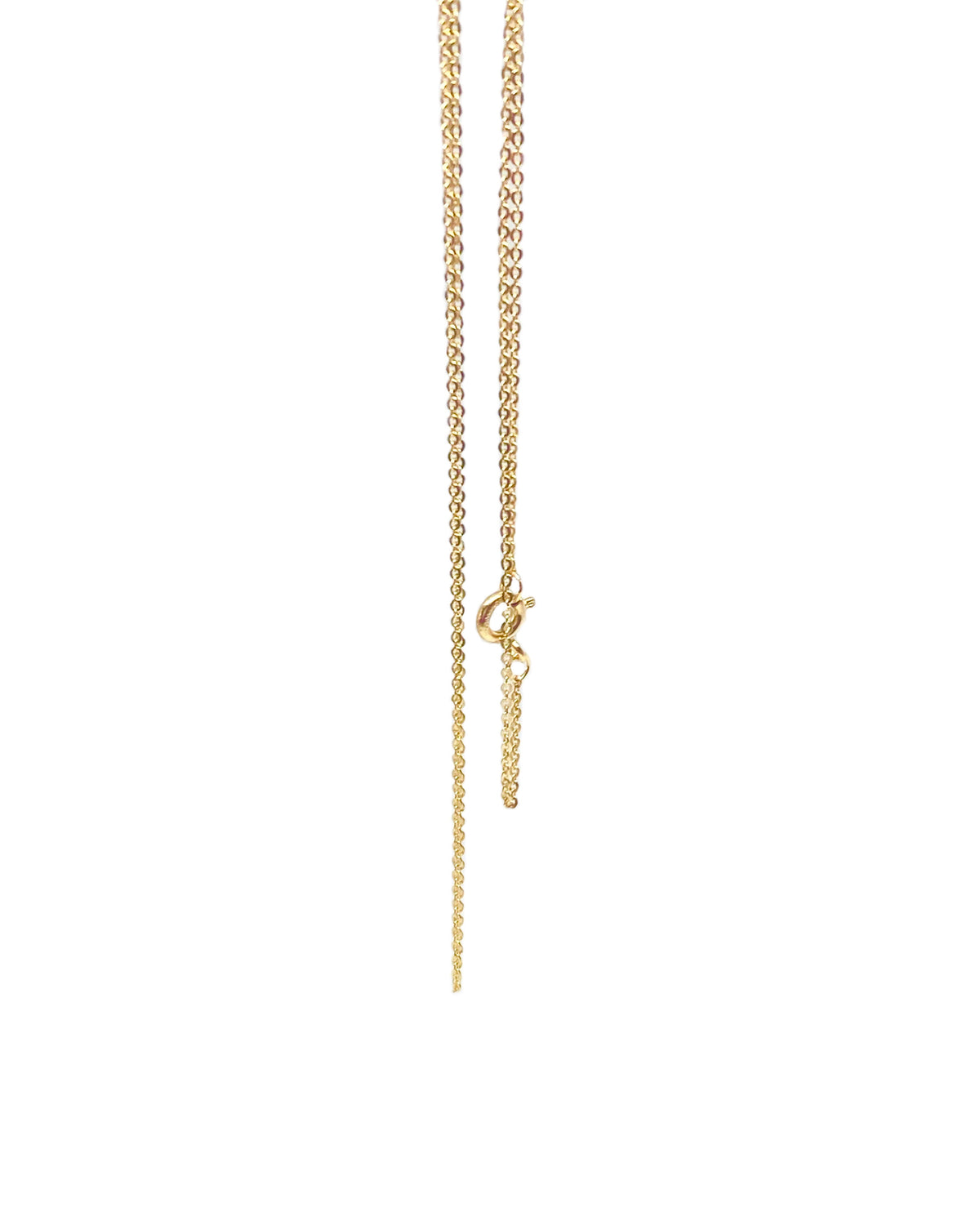 THIN FLAT CABLE CHAIN NECKLACE