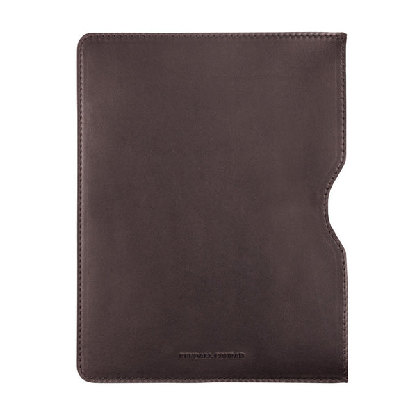 IPAD AIR SLEEVE in Chocolate Bridle Leather