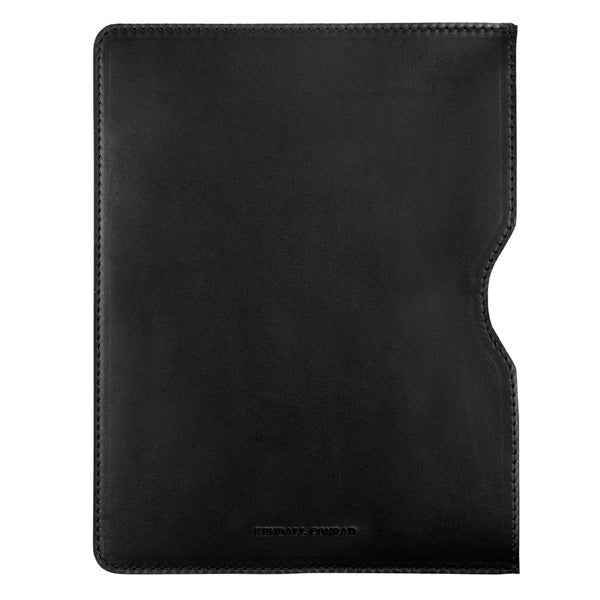 IPAD AIR SLEEVE in Black Bridle Leather