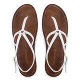 MARTINGALA SANDALS in White Napa Leather