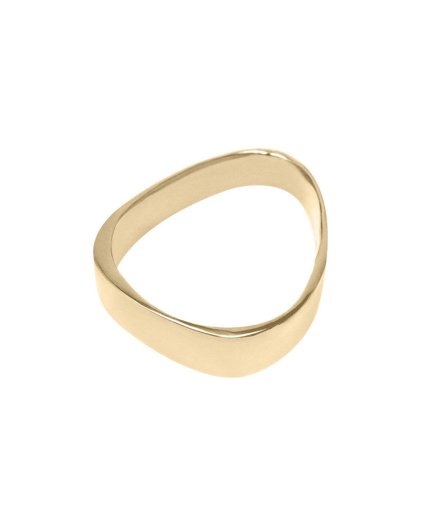 NAKED OBLIQUE BANGLE