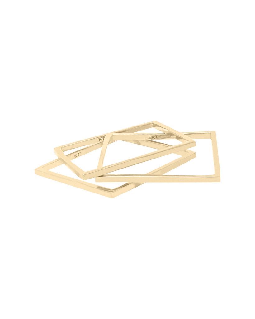 NAKED SQUARE BANGLE I