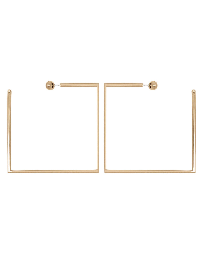 NAKED SQUARE HOOPS II