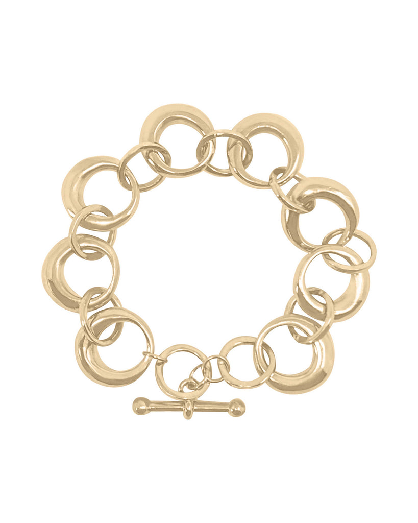 ROUNDED CHAIN BRACELET SMALL