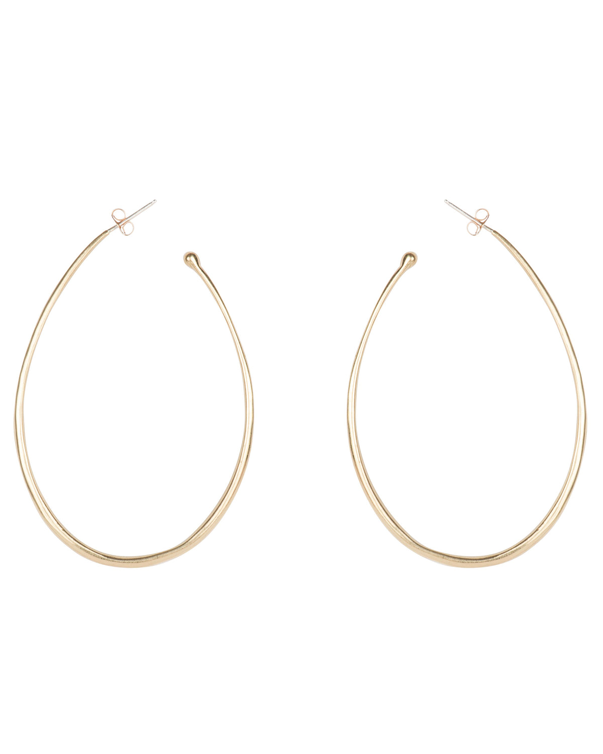 THIN ROUNDED HOOPS III