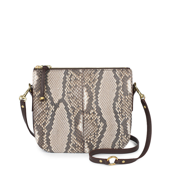 TRIANA in Natural Snakeskin