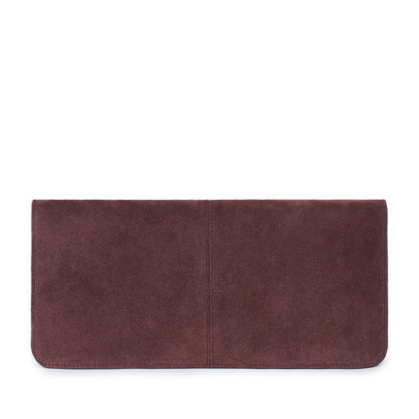 VIDA CLUTCH in Fino Suede