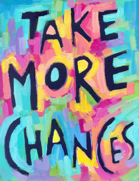 Take More Chances - Inspiring Personal Growth poster
