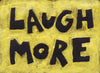 Laugh more - Dorm, Kids Room, Nursery Motivational poster