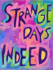 STrAngE Days INDeeD - Dorm teen funny Poster