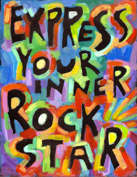 Express your inner rock star