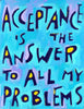 "🛑 Addiction Recovery 12 Step Sober Gift (Set of 4 - 16""x21"") Positive Inspirational Daily Affirmation Poster"