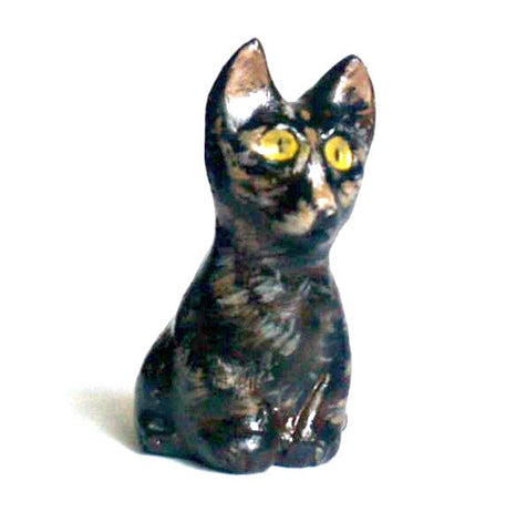 Custom Cat Figurine - Polymer Clay Pet Totem