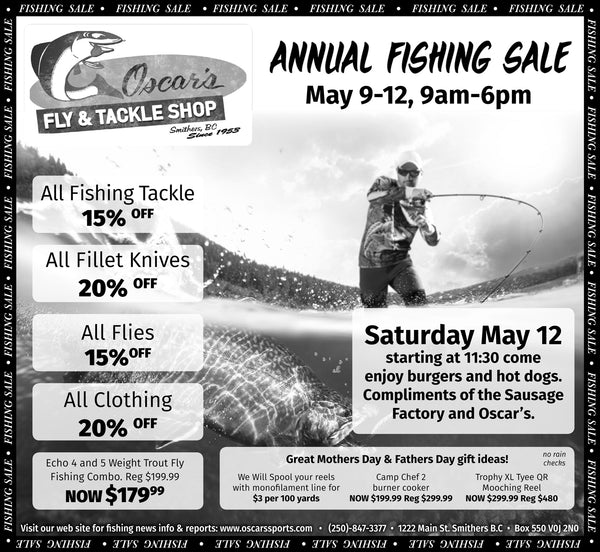 Annual Fishing Sale