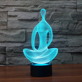 3D Meditation LED Nightlight