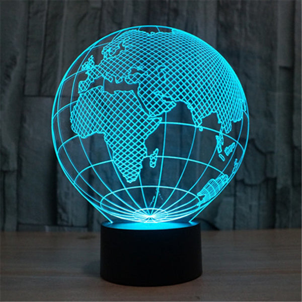 3D World LED Nightlight