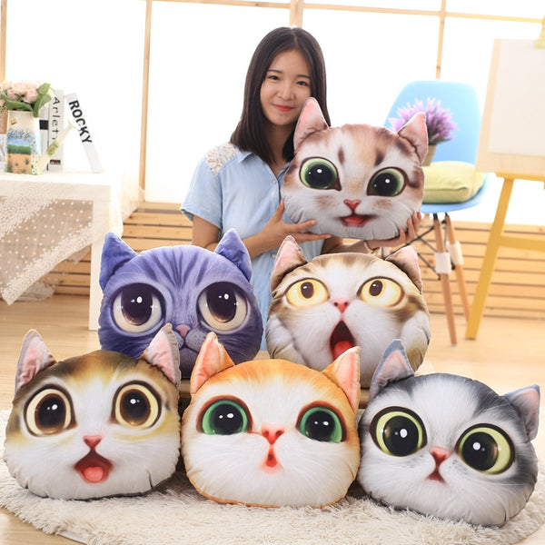3D Kitty Cushion