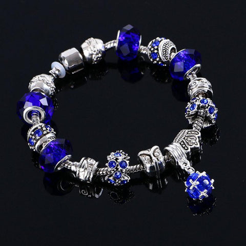 Bracelets - Hot Fashion Crystal Charm Bracelet