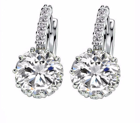 Earrings - Zircon Crystal Earrings