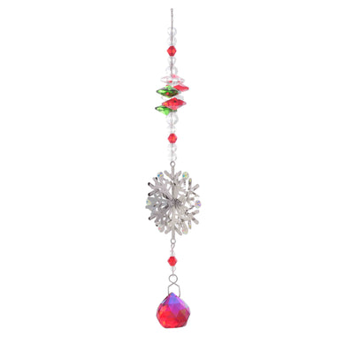 EQUILIBRIUM STAR RED CRYSTAL XMAS SUNCATCHER - Jamjo Online