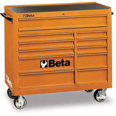 Beta Tools - 11-Drawer, Roller Cabinet - C38-Roller Cabinet-Beta Tools-Orange-Torque Toolboxes