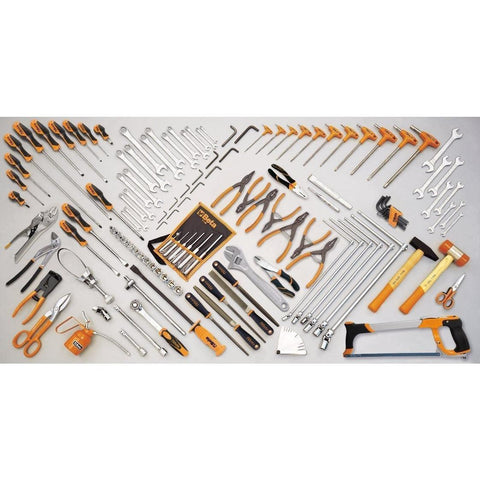 Beta Tools - 132pc. Car Repair Tool Set - 5904VG/3-Tool Set-Beta Tools-Torque Toolboxes