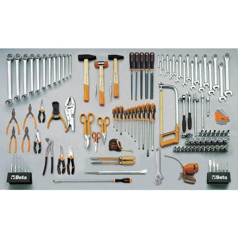 Beta Tools - 133pc. Universal Tool Set - 5957U-P-Tool Set-Beta Tools-Torque Toolboxes