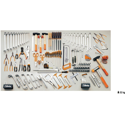 Beta Tools - 165pc. Industrial Tool Set - 5957VI-Tool Set-Beta Tools-Torque Toolboxes