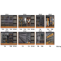 Beta Tools - 210pc. Universal Tool Set - 5938U/2T-Tool Set-Beta Tools-Torque Toolboxes