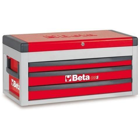Beta Tools 2200 S/MT 3 Drawer Tool Chest C22S + 106 PCS-Tool Chest-Beta-Tools-Red C22S + 106 PCS-Torque Toolboxes